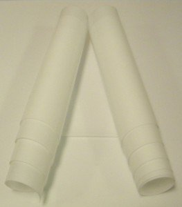 PTFE Film (Ultra Pure Virgin PTFE) / 2 MIL (.002'') (.05mm) Thick / (24'' Wide x 20' Long Roll) by Scientific Commodities