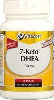 Vitacost 7-Keto métabolite de la DHEA - 50 mg - 60 comprimés