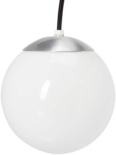 Globe Pendant Light White in US - 7