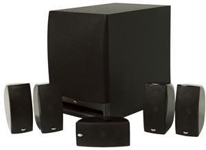 Klipsch HD1000 5.1 Channel Home Theater Speaker System by Klipsch