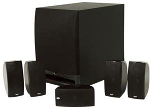 Klipsch HD1000 5.1 Channel Home Theater Speaker System by Klipsch
