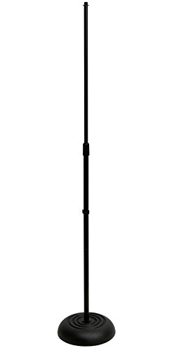 On Stage MS7201B Round Base Microphone Stand, (Mic Base)