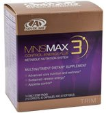 Advocare Mns Max 3  14 Daily Strip Packs  112 Caplets  56 Capsules  And 28 Solftgels