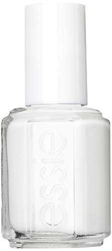 essie Original Shine & Gloss Nail Varnish, Streak Free Application, Nail Enamel 1 Blanc White Nail Polish French…