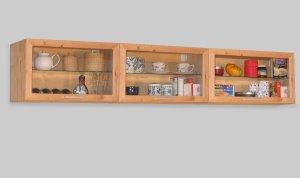 3x Küchen Hängeschrank birke massiv geölt: Amazon.de: Küche & Haushalt | {Hängeschrank küche 1}