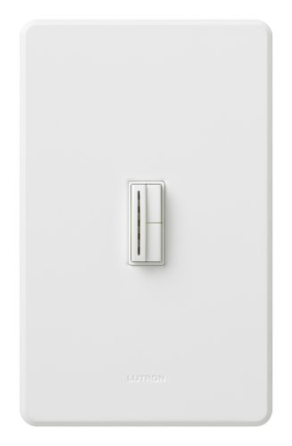 (Lutron AB-600HW-WH Abella 600W Single Pole/Multi-location Dimmer White)