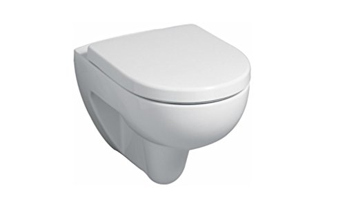 Keramag Wand-WC Renova Nummer 1, Tiefspüler, 1 Stück, weiß, 203040000
