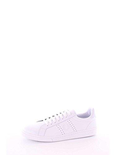 Fred Perry B721 Chaussure En Cuir, Blanc, 10 D Uk (11 Us)