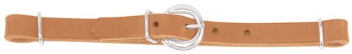 Weaver Leather Horizons Straight Harness Leather Curb Strap, Golden (Harness Leather Curb Strap)