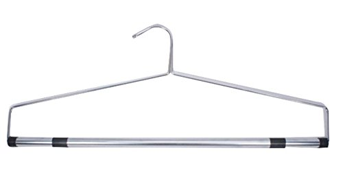 "NAHANCO SBD22 22"" Chrome-Plated Bedspread and Drapery Hanger (Pack of 12)"