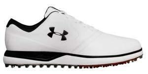[アンダーアーマー] Performance SL Leather Golf Shoes<br>メンズ White/Black ゴルフシューズ レザー/25.0 [並行輸入品] 28.0 cm  B07KWDYF55