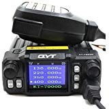 QYT KT-7900D 25W Quad Band 144/220/350/440MHZ Car Mobile Radio with External MIC ()