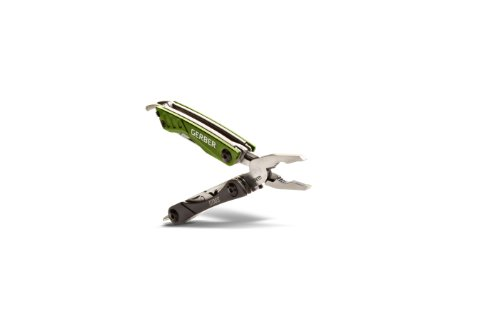 Gerber Dime Micro Tool, Green, Clam 31-001132, Outdoor Stuffs