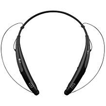 LG Electronics Tone Pro HBS-770 Stereo Bluetooth Headphones Black (Renewed)