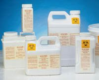 PT# SMS2400 Container Sharps Isolyser Sms White 3L Ea by, WCM, Inc