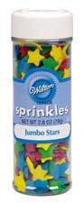 Wilton Jumbo Stars Sprinkles ()