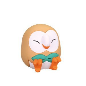 Takara Tomy Pokemon Goodnight Friends Figure Sun and Moon Rowlet (single)