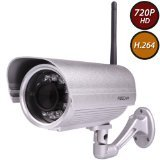 Foscam FI9804P 720P Outdoor HD Wireless IP Camera (Silver) (Wireless Webcam Foscam)