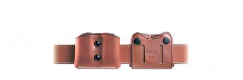 Galco DMC Double Mag Carrier for .45, 10mm Staggered Metal and Polymer Magazines Glock, para, H&K, Springfield, S&W (Tan, Ambi)