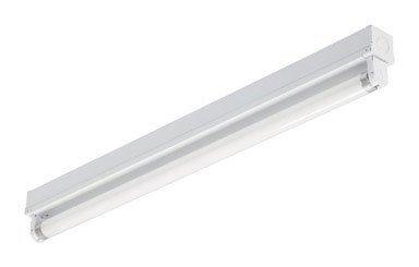 Lithonia Lighting MNS8 1 17 120 RE 1-Light T8 Mini-Strip Light for Residential Use, 2-Feet by Lithonia Lighting