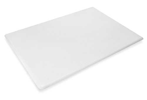 New Star Foodservice 28850 Cutting Board, 15x20x1/2-Inch, White (Cutting Board Star)