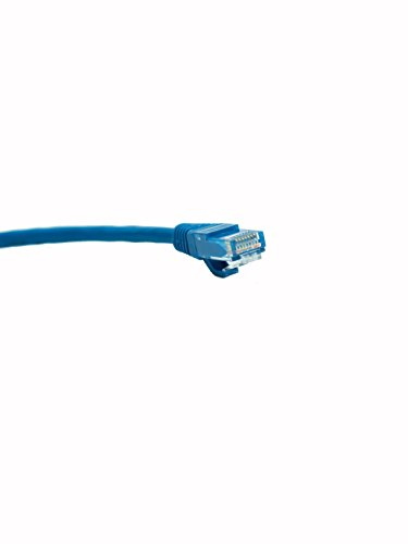 Legrand - On-Q  AC3650BEV1 Cat 6 Patch Cable, 10Gbps Ethernet Speed, Computer Networking Cord/Data Cable, 50- Feet, Blue