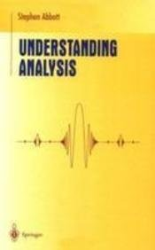Read Online Understanding Analysis pdf