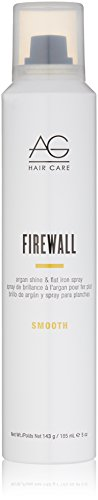 AG Hair Smooth Firewall Argan Shine & Flat Iron Spray (Hair Flat Spray Iron)