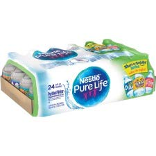 Pure Life NLE194627PL 8 oz Nestle Purified Bottled Water - Clear