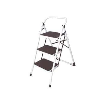 Industrial Grade 12m627 Step Stool 3 Step Ht 48 In