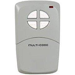 Multicode Garage Door Opener Transmitter - Multi-Code 414001 4-Channel Visor Transmitter