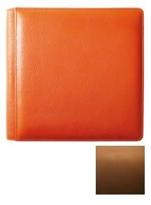 SANTA FE TAN grain leather #105 album with 5-at-a-time pages by Raika - 4x6 by Raika®