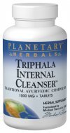 Planetary Herbals Triphala Internal Cleanser Tablets, 1000 mg, 90 Count (Triphala Internal Cleanser)