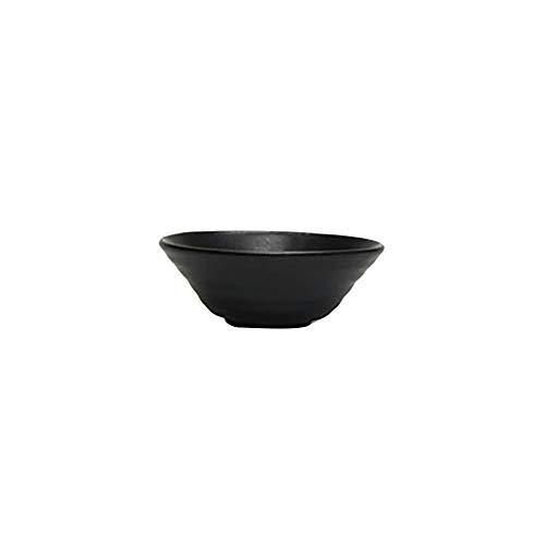 Vertex China E-OSB-O Elements Onyx 4 Ounce Sauce Bowl - 48 / CS