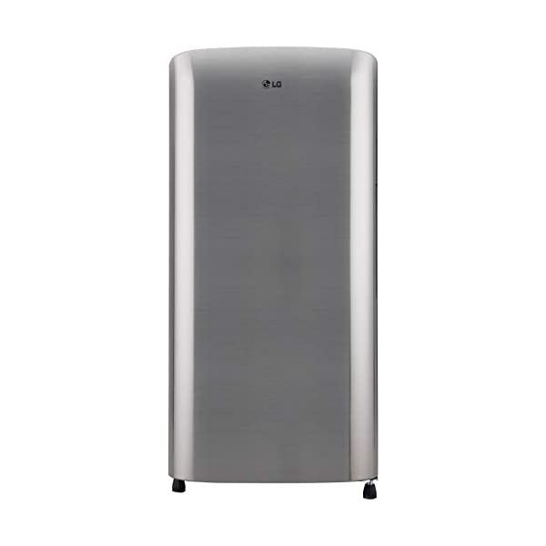 LG 190 L 3 Star Direct-Cool Single Door Refrigerator (GL-B201RPZD, Shiny Steel, Moist 'N' Fresh) 2021 August Direct Cool Refrigerator: Economical and requires manual defrosting Capacity 190 Liters: suitable for couples and bachelors Energy Rating: 3 Star