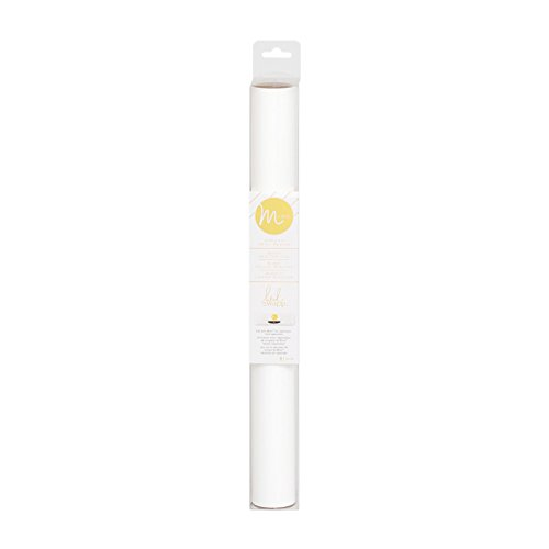 Heidi Swapp MINC Application Machine Reactive Foil by American Crafts | White Foil Roll | 12 x 60-inch