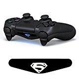 iProtect LED Light Bar LED Sticker for PlayStation 4 Controller DualShock 4 Superman