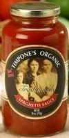 Moms Spaghetti Sauce Traditional Tomato and Basil Sauce, 24 Ounce - 6 per case.