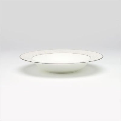(Noritake Motvale Platinum Soup/Cereal Bowl)