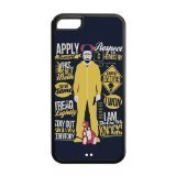 Case for iPhone 5c,Black/White Sides,Classic Style Customzie Unique Design iPhone 5cs Cases , High Qualiy TPU Material,The Breaking Bad 5c Cover