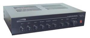 (60W PA Mixer Power Amplifier w/ 6 Inputs)