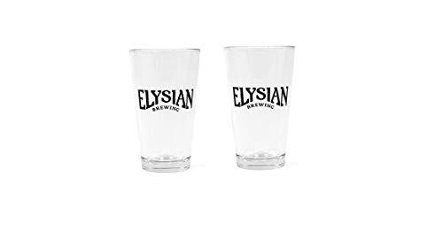 Elysian Brewing Company Signature Pint Glass, 2-Pack
