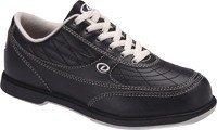 Dexter Turbo II Wide Width Bowling Shoes, Black/Khaki, 12