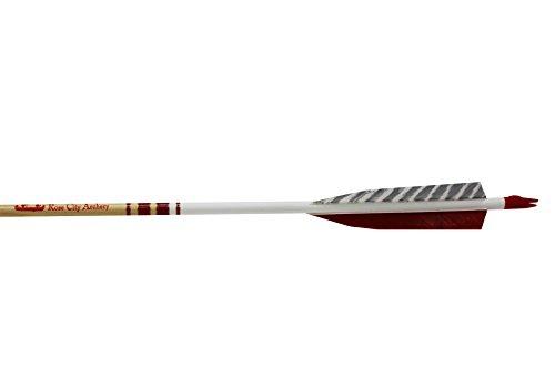 Rose City Archery Port Orford Cedar Hunter Elite Arrows with 5