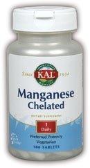 KAL - manganèse chélaté, 12 mg, 100 comprimés