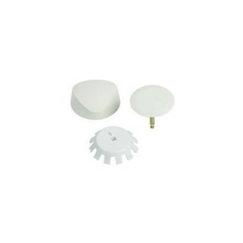 Geberit 151.550.FF.1 Traditional Plastic TurnControl Trim Kit, Biscuit