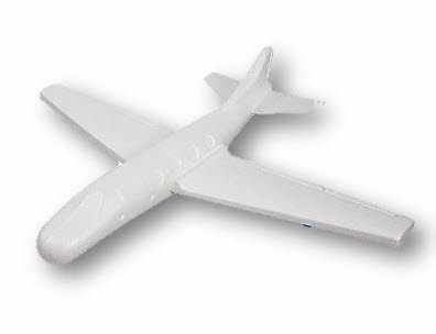 Planeur High Flying Styrofoam Gliders Wingspan, 22-Inch - Foam Glider