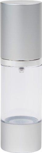 Airless Pump Bottle Silver Matte 1 ()