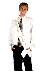 Novelties Direct Prom King Satin Sash (1)