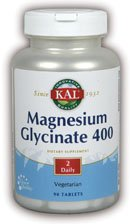Magnesium 90 Tablets (Magnesium Glycinate 400mg (as seen in First Magazine) Kal 90)